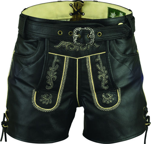 Costume Leather Short Womens with belt