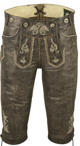 Real Leather Knickerbocker for Mens and Womens, Antique Cowhide