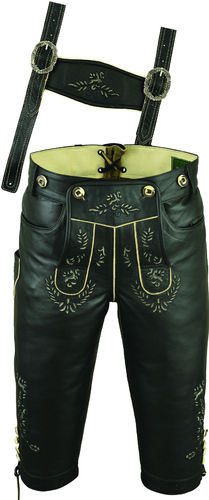 Trachten Knickerbocker Lederhose in Genuine antique Cow Leather