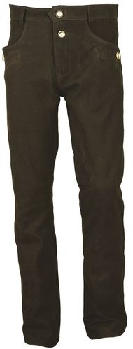 Costume Leather Trousers long in Genuine Leather