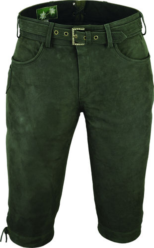 Mens Hunting Leather Pants Knickerbocker