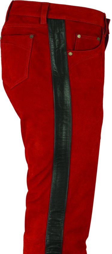 Rote lederhose herren