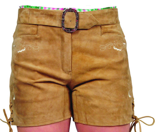 Leather Short pant womens