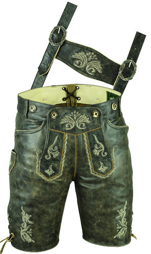 High Quality Short Leather Pants costume antique